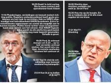 Jorritsma en Grapperhaus appten elkaar tijdens avondklokrellen: 'Is écht oorlog'