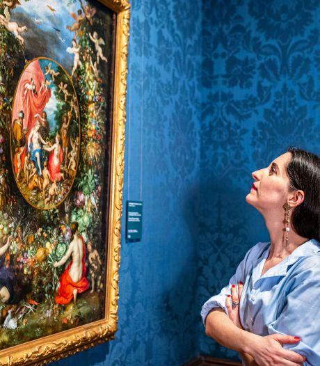 Eefje de Visser maakt dromerig liedje bij kleurrijk, tikkeltje kitsch schilderij uit Mauritshuis