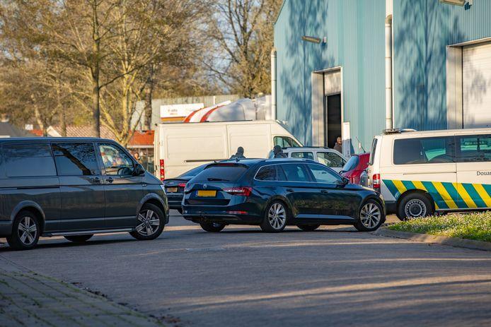 Inval in Deventer aan de Duurstedeweg.