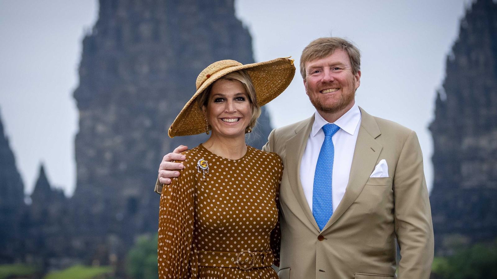 Koning Willem-Alexander en koningin Máxima.