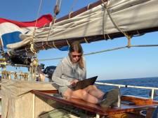 Bredase Eva (28) zeilt de wereld over voor het klimaat