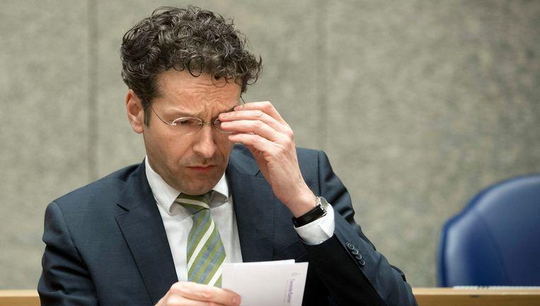 Minister Jeroen Dijsselbloem van Financiën. Beeld REUTERS