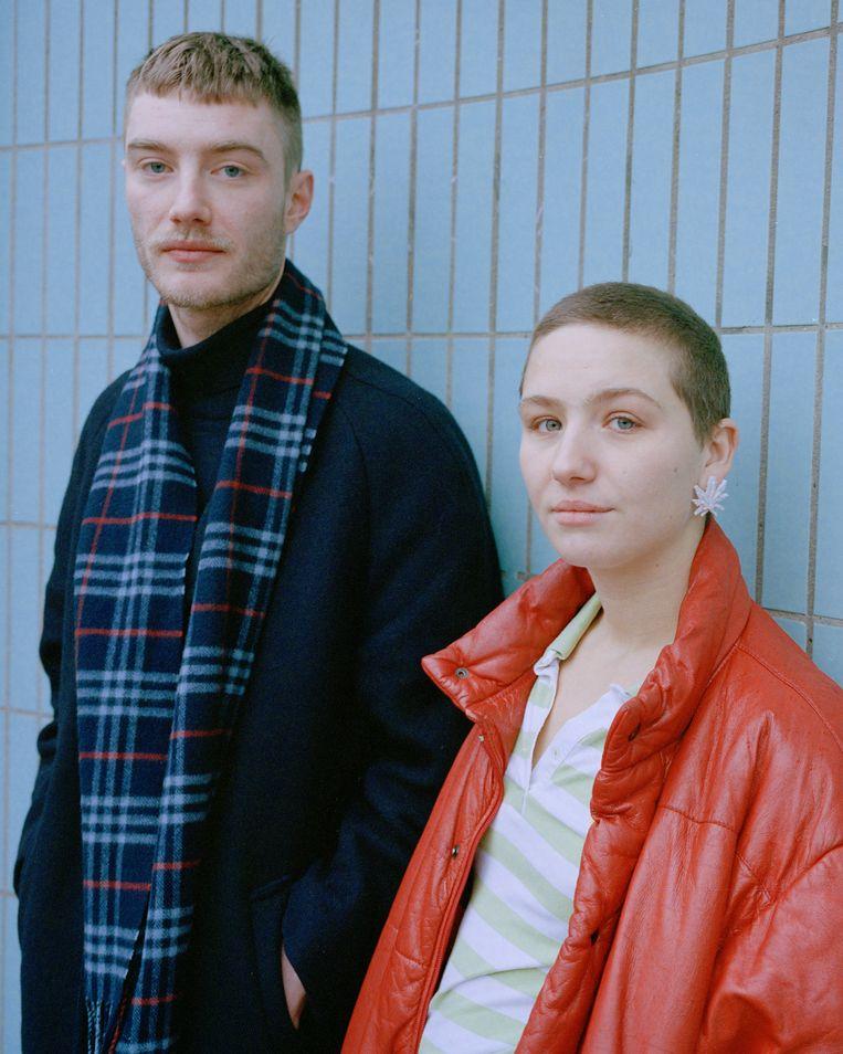 Vincent Boy Kars en Leyla de Muynck. Beeld Zahra Reijs