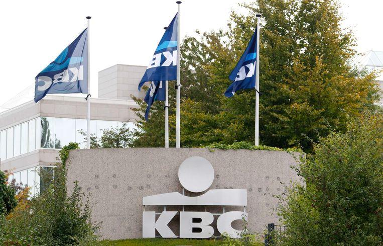 KBC Bank was vorig jaar de absolute winstkampioen volgens Trends Top. Beeld REUTERS