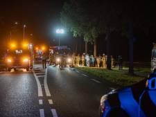 Ernstig ongeluk in Raalte: auto rijdt tegen boom, vijf mensen zwaargewond