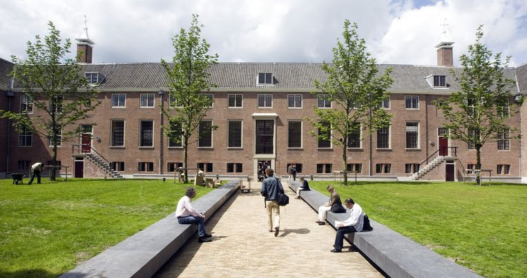 De tuin van de Hermitage Amsterdam. Foto ANP Beeld