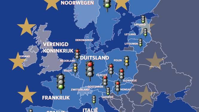 Domino-effect bij invoeren grenscontroles in Europa