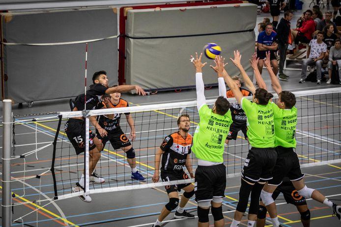 Landskampioen Orion en het Belgische Volley Gent namen het in een drieluik op tegen elkaar en tegen Sliedrecht Sport.