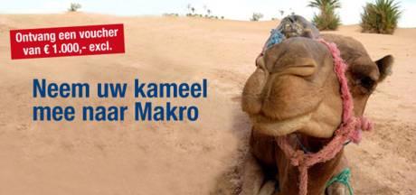 Dierenbescherming tegen 'kamelenactie' Makro