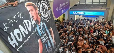 Duizenden fans Botafogo onthalen Keisuke Honda