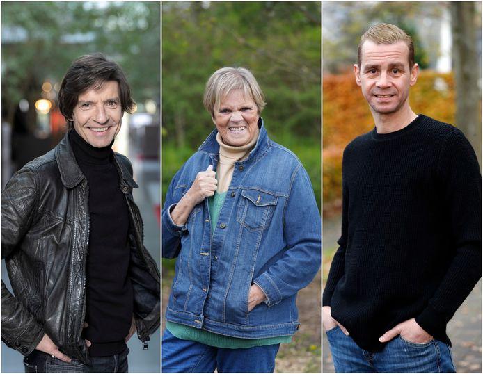 Koen Wauters, Margriet Hermans en Sam Gooris