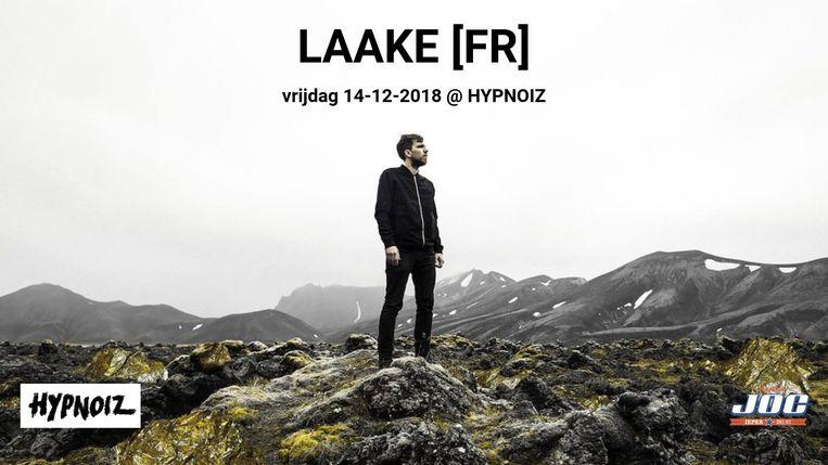 Hypnoiz haalt de jonge Parijse elektronica-artiest LAAKE naar Ieper.