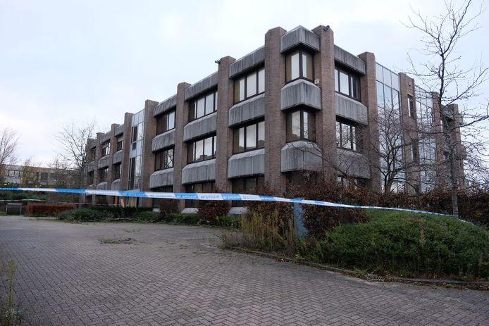 Het leegstaand pand in de Belgicastraat waar het gevecht uitbrak