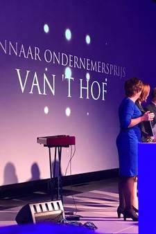 Van 't Hof wint Ondernemersprijs Voorne-Putten 2017