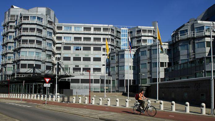 Het AIVD-gebouw in Zoetermeer.