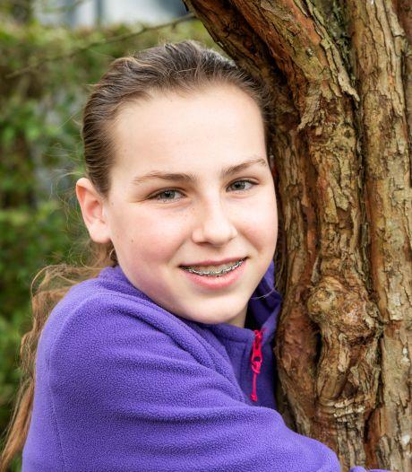 Janna (12) uit Welberg gaat ervoor zorgen dat Nederland 50 bomen rijker wordt