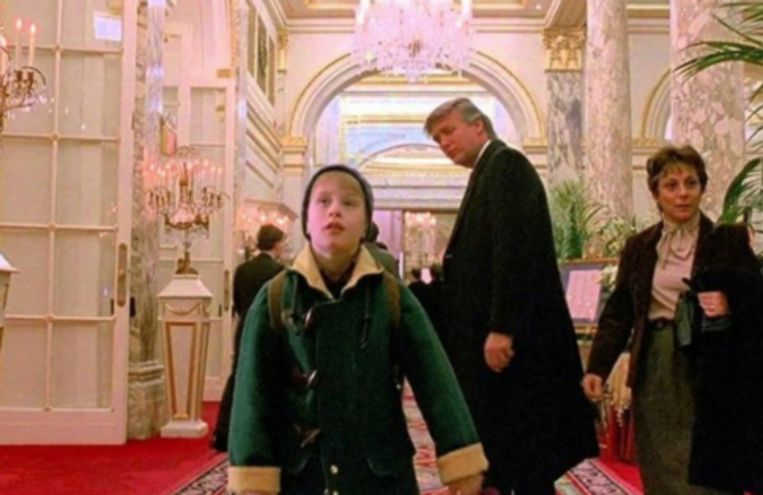 Trump in 'Home Alone 2'.