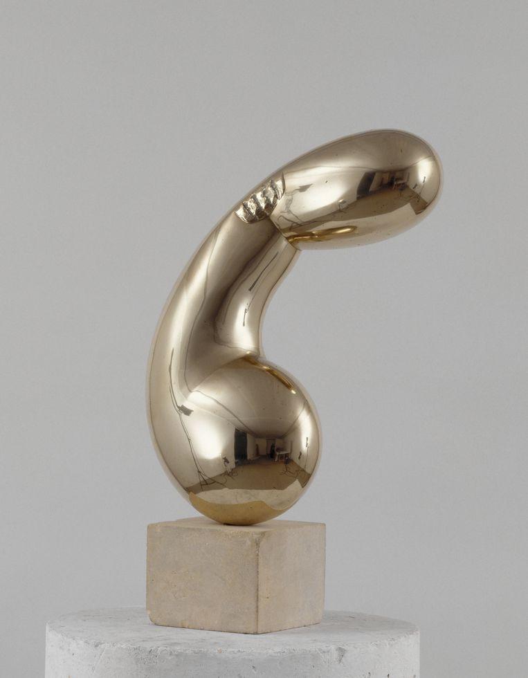 Constantin Brancusi, 'Princesse X' (1915-1916), een bronzen werk uit de Collectie Centre Pompidou. Beeld 2013 c/o Pictoright Amsterdam. Foto Adam Rzepka. /
