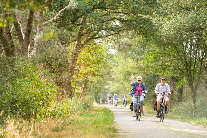 Het blijft dit keer niet alleen bij fietsen. Hervormd Wierden houdt deze week ook wandel- en mountainbiketochten.