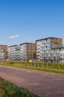 Door de vorm van deze flats staat Middelburg voor lul