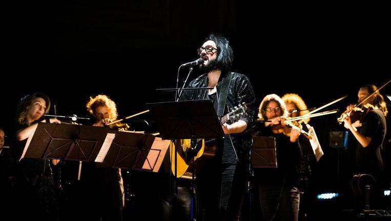Een gewaagde keuze: Blaudzun bracht onder meer Nirvana naar het Concertgebouw. Beeld Tom Roelofs