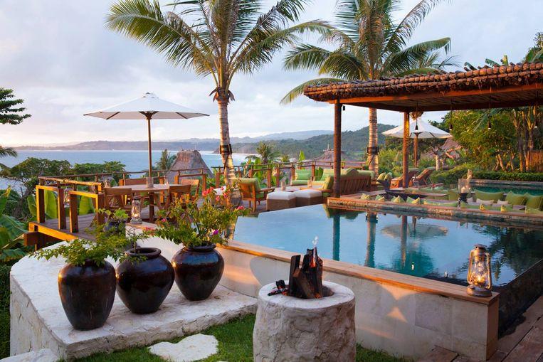Het resort waar David en zijn gezin verbleven.