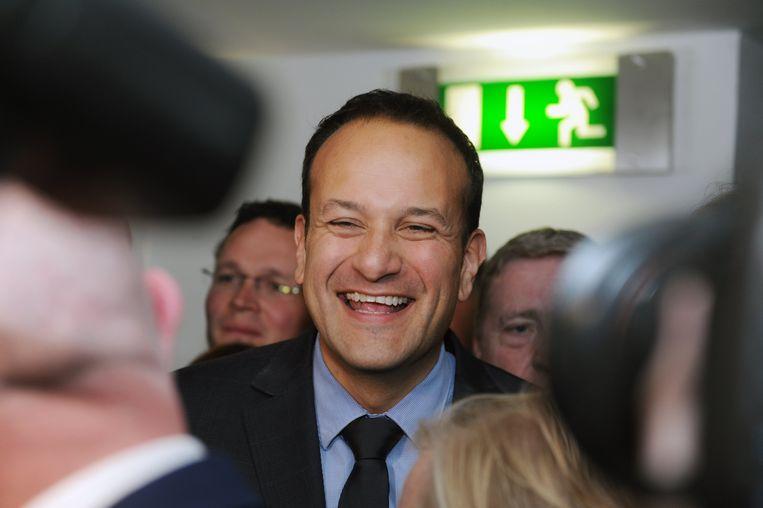 Leo Varadkar wordt met zijn 38 jaar de jongste Ierse premier ooit. Beeld EPA
