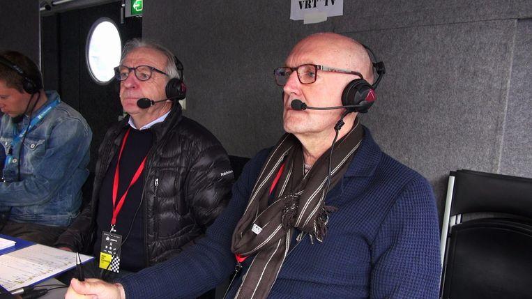 Michel Wuyts en José De Cauwer. Beeld © VRT - 2019