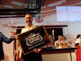 """Cafébaas Dave Jacobs (40) wint zenuwslopend Belgisch kampioenschap biertappen: """"Elke millimeter kan het verschil maken"""""""