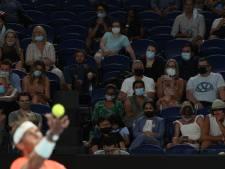 Lockdown: Australian Open moet verder zonder publiek