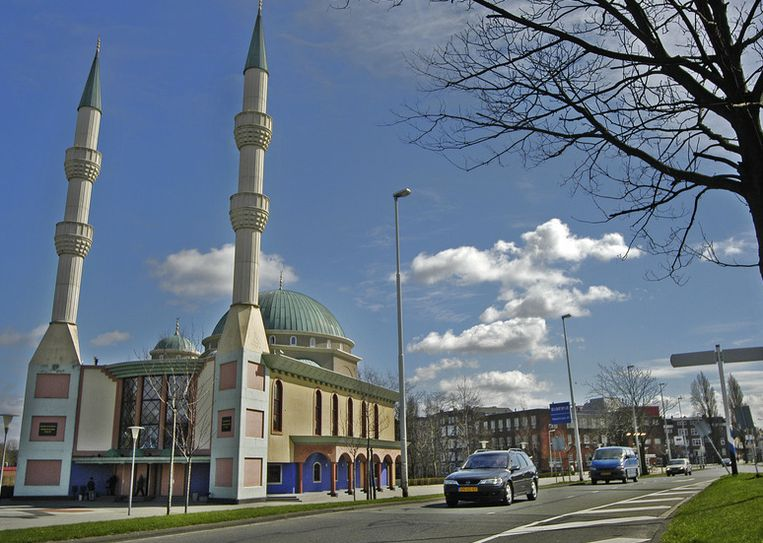 De Mevlana-moskee in Rotterdam. Beeld ANP
