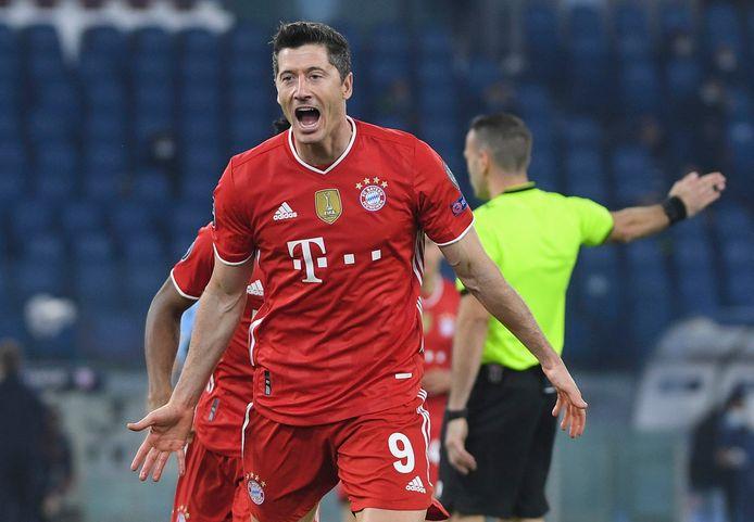Lewandowski scoorde alweer.