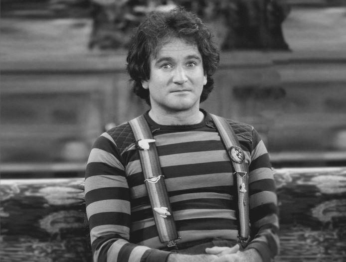Robin Williams als jonge knaap in de theaterwereld.