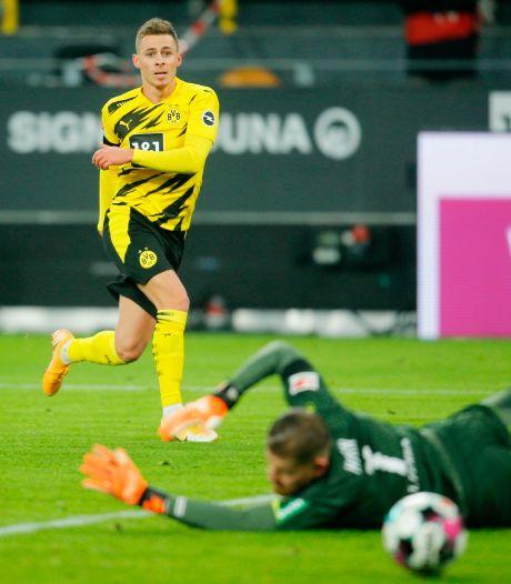 Thorgan Hazard a repris l'entraînement collectif au Borussia Dortmund