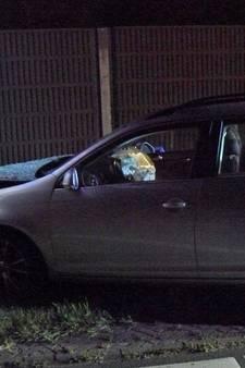 Dronken bestuurder botst tegen reclamebord in Almelo