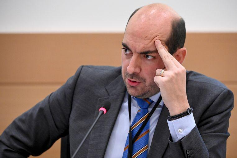 Staatssecretaris voor Digitalisering Mathieu Michel. Beeld BELGA
