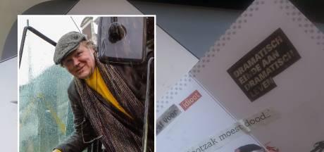 Klimaatboer Piet krijgt bloederige dreigbrieven en een dode rat: 'Ik zwicht en zwijg nooit!'