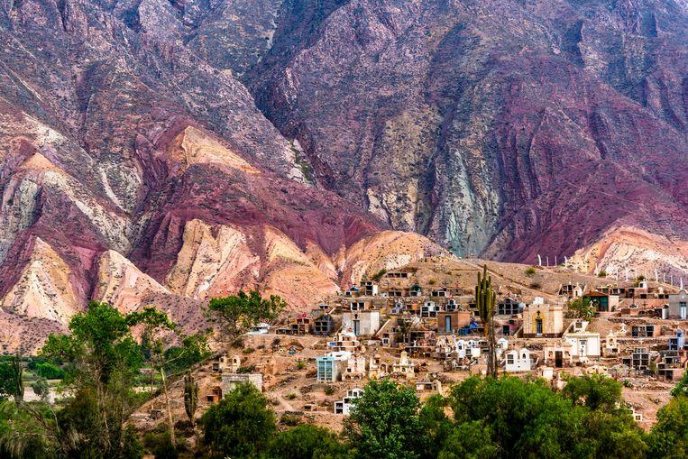 Quebrada de Humahuaca, een adembenemend mooie kloof die op de UNESCO-werelderfgoedlijst staat. Beeld Alamy Stock Photo