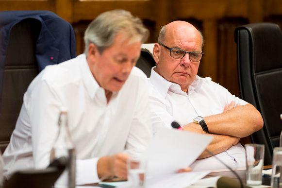 Open Vld'er Versnick naast Gents burgemeester Daniël Termont (sp.a).