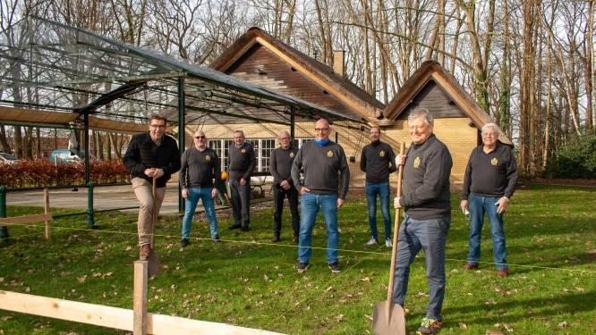 Handbooggilde Sint-Sebastiaan krijgt nieuwe zaal voor liggende wip
