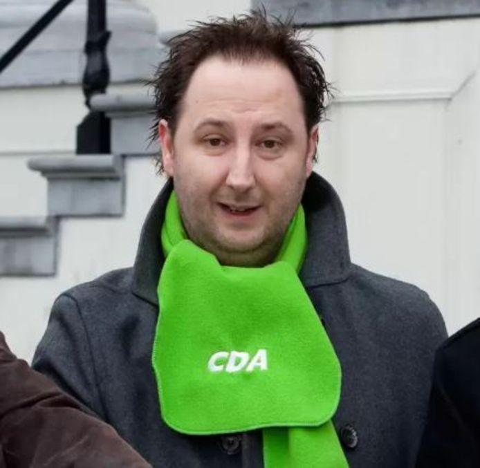 Gert-Jan Paulussen stopt per direct als CDA-raadslid in Zundert.