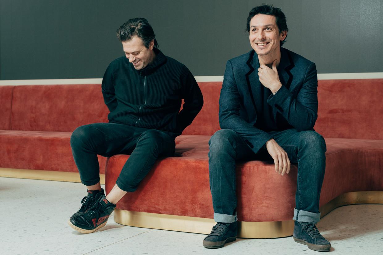 Sterrenchefs Sergio Herman en Marcello Ballardin.