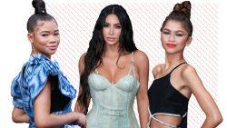 Dit droegen Zendaya, Kim Kardashian en andere sterren naar de People's Choice Awards