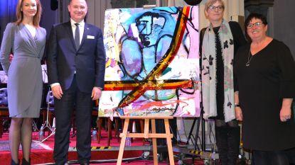 Kerstconcert en veiling kunstwerk leveren 6.000 euro op