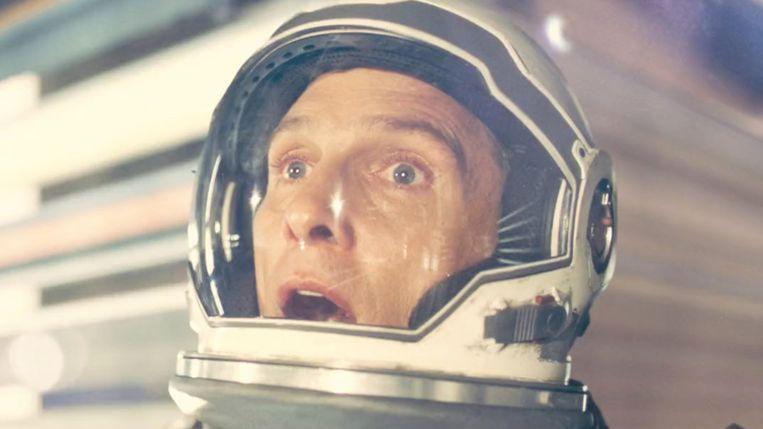 Matthew McConaughey in Interstellar van Christopher Nolan. Beeld