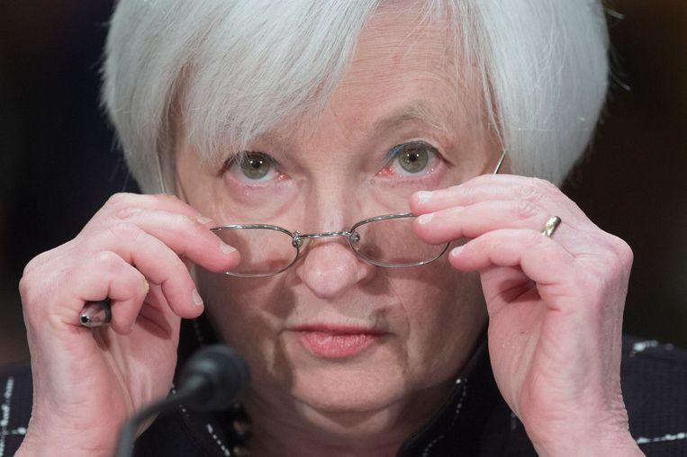 Janet Yellen, de toekomstige minister van Financiën. Beeld EPA