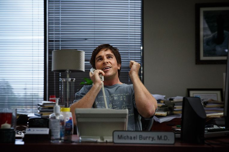 Christian Bale in The Big Short. Beeld