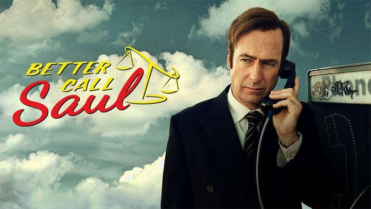 Netflix biedt 'Better Call Saul' niet aan in de VS, maar wel bij ons. Beeld AMC