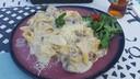 Hoofdgerecht Hasta la Pasta: Tagliatelle+fungi-tartugo+champignons