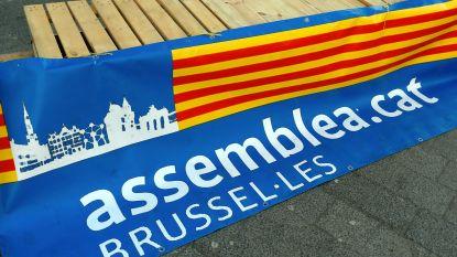 200 betogers tegen proces Catalaanse separatisten